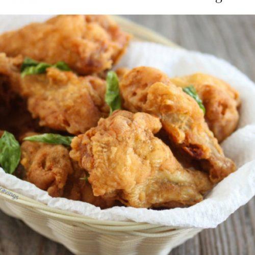 món ăn cánh gà nướng