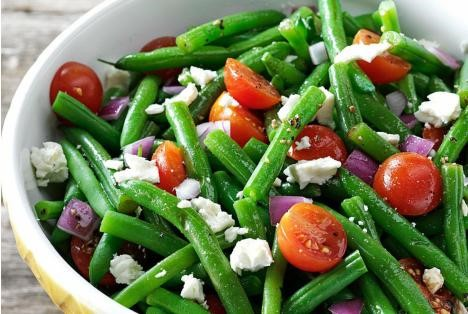 công thức làm salad đậu cave