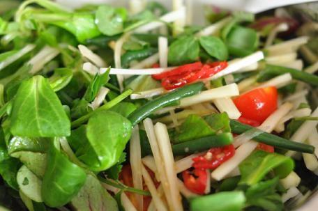 công thức salad đu đủ đưa cơm